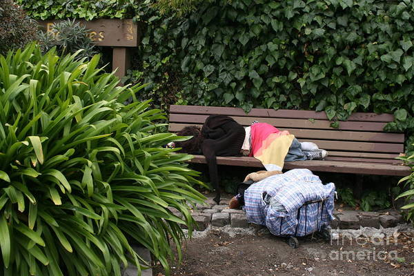 Photograph - Homeless by Cynthia Marcopulos