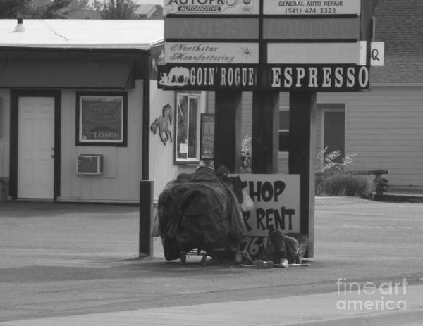 Photograph - Homeless Hoarder by Marie Neder