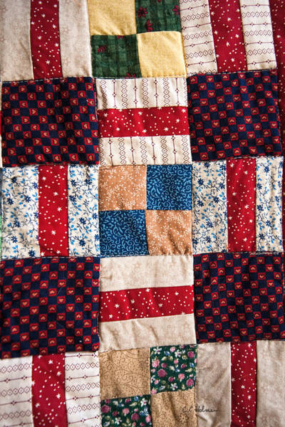 Photograph - Homemade Quilt by Christopher Holmes