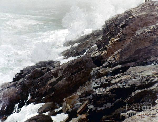 Photograph - Homer: High Cliff, 1894 by Granger