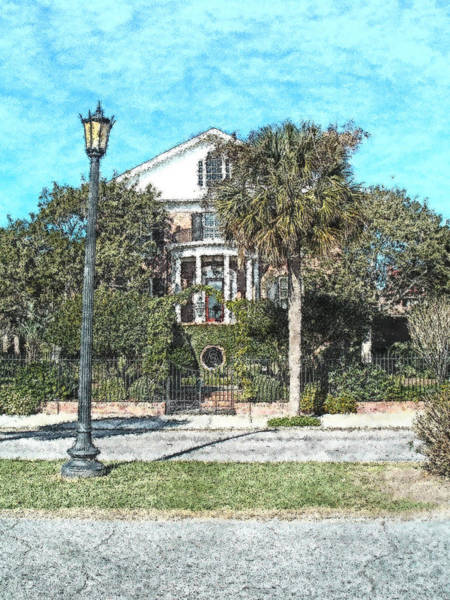 Photograph - Homes Of Charleston  by Donna Bentley