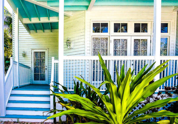 Photograph - Homes Of Key West 6 by Julie Palencia