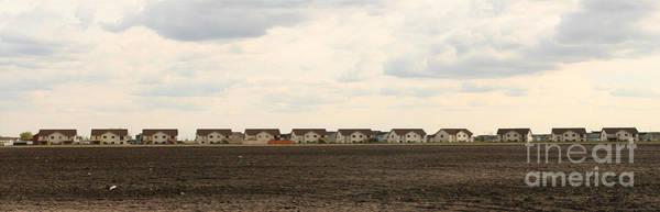 Photograph - Homes On The Prairie by Steve Augustin