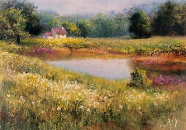 Pastel - Homestead by Bill Puglisi