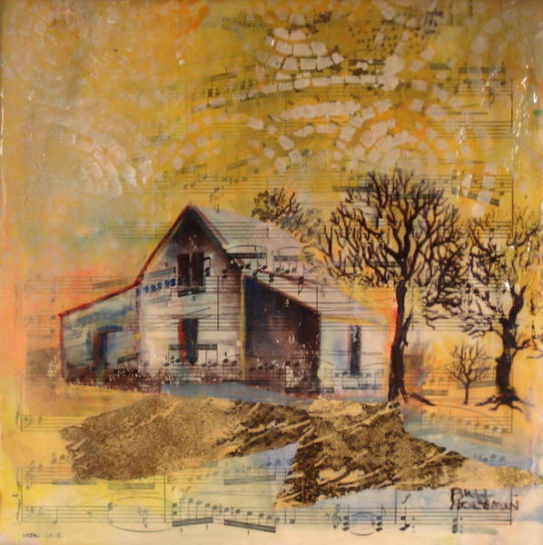 Open Space Mixed Media - Homestead by Buff Holtman