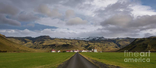 Wall Art - Photograph - Homestead In Iceland  by Michael Ver Sprill