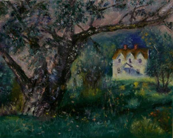 Stephen King Painting - Homestead by Stephen King