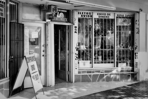 Photograph - Homestead Storefront-1 by Rudy Umans