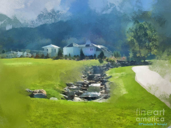 Photograph - Homestead Stream by Paulette B Wright