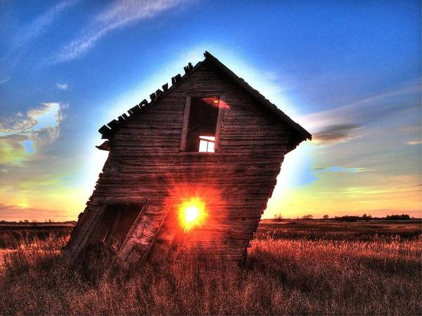 Photograph - Homestead Sunset by David Matthews