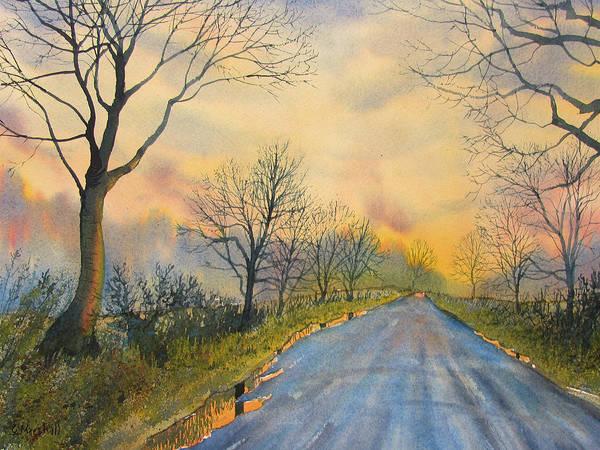 Painting - Homeward Bound For Kilham by Glenn Marshall