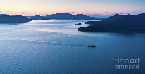 Ferry Photograph - Homeward Bound by Mike Reid