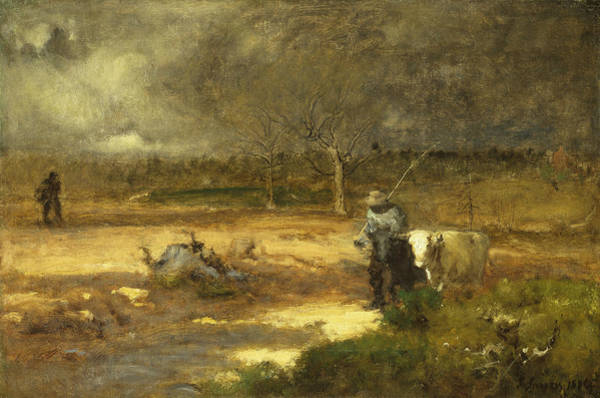 Painting - Homeward by George Inness
