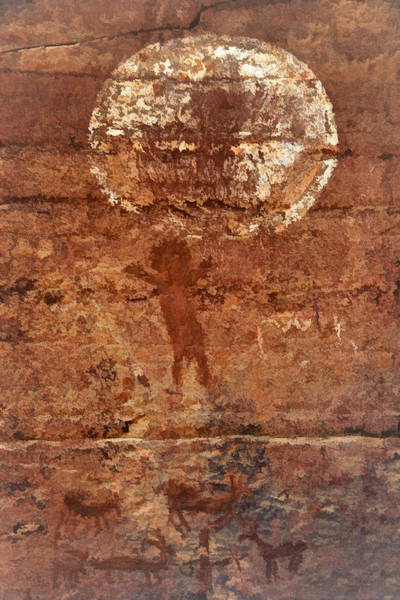 Photograph - Honanki Pictographs5 Tnd by Theo O'Connor