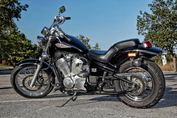 Photograph - Honda Shadow by Amber Flowers