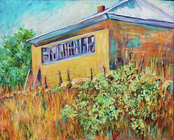 Hondo Valley School House Art Print