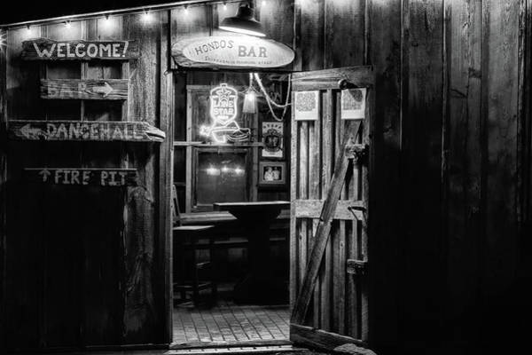 Wall Art - Photograph - Hondos Bar In Luckenbach Texas by JC Findley