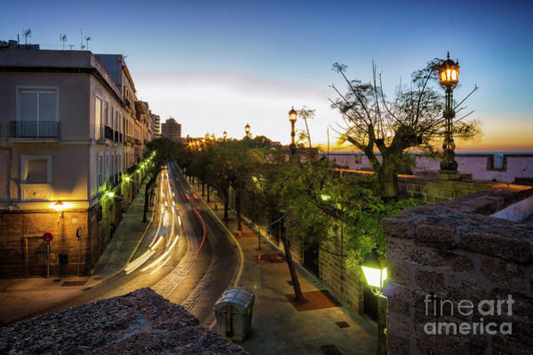 Photograph - Honduras Street Cadiz Spain by Pablo Avanzini