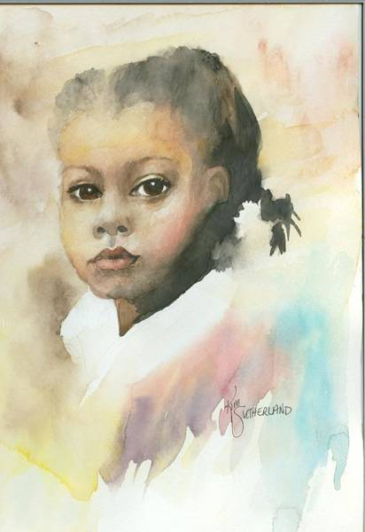 Wall Art - Painting - Honey Child by Kim Whitton