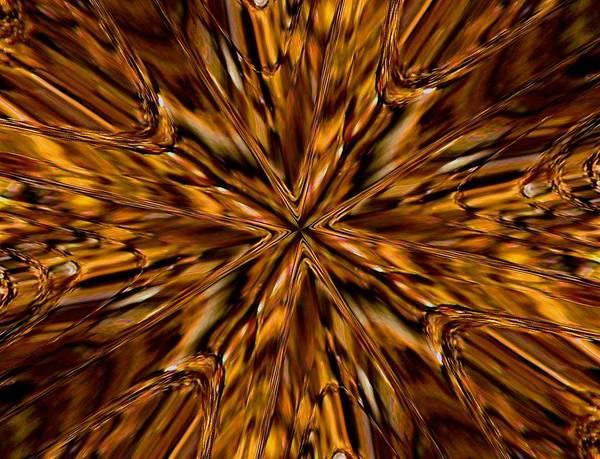 Honey Flow Art Print