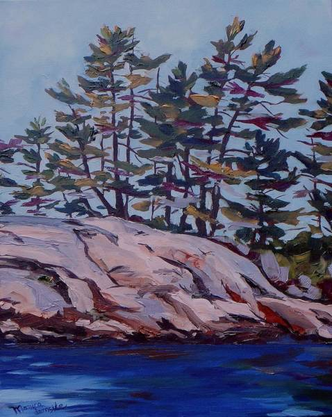 Painting - Honey Moon Bay by Monica Ironside