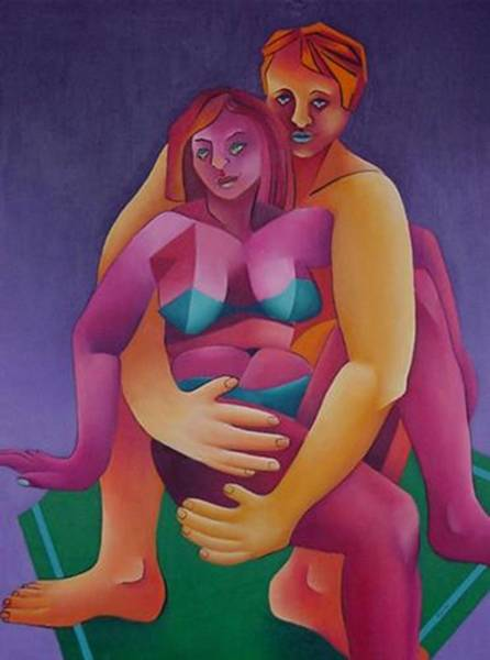 Honeymooners Art Print