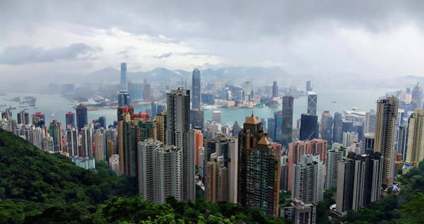 Photograph - Hong Kong After Rain by Rick Lawler