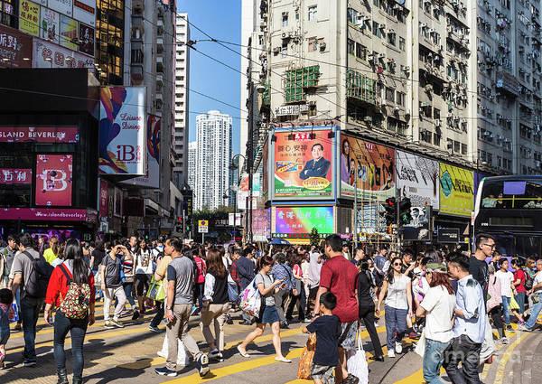 Photograph - Hong Kong Causeway Bay.  by Didier Marti