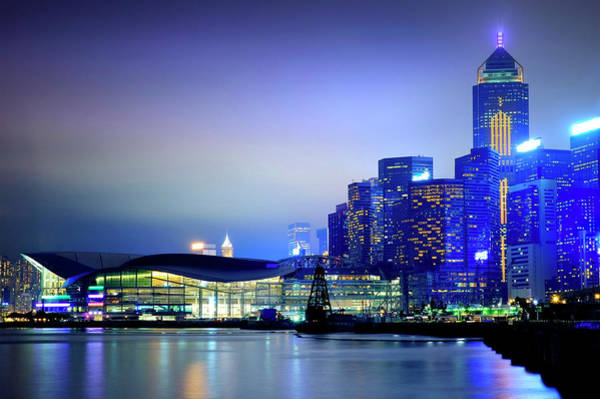 Photograph - Hong Kong Convention And Exhibition Centre by Fabrizio Troiani