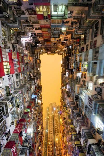 Photograph - Hong Kong Living by Matt Shiffler