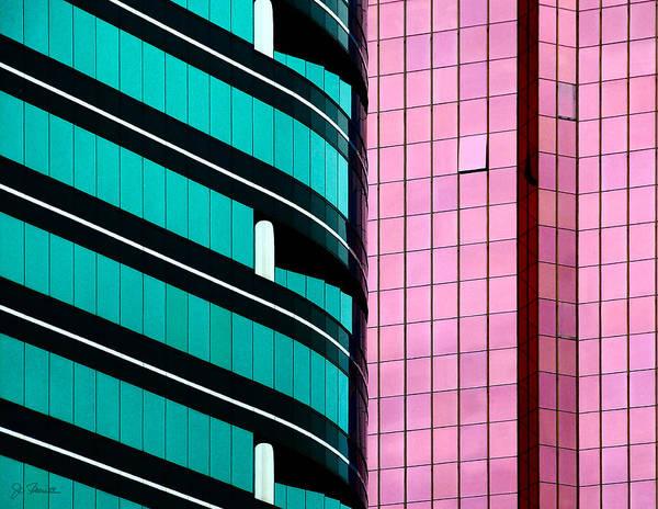 Wall Art - Photograph - Hong Kong Offices by Joe Bonita