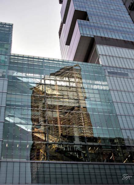 Photograph - Hong Kong Reflection by Endre Balogh