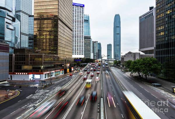 Photograph - Hong Kong Rush Hour by Didier Marti