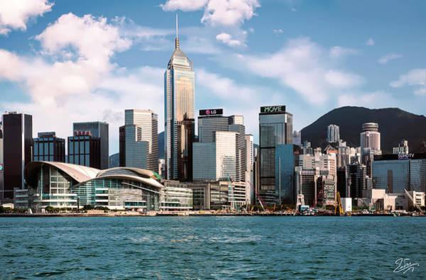 Photograph - Hong Kong Skyline 1 by Endre Balogh