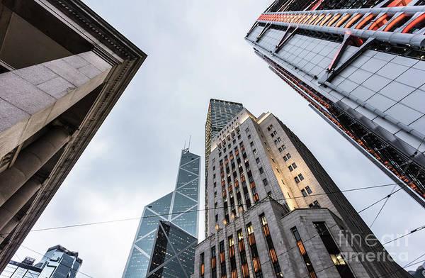 Photograph - Hong Kong Skyscraper by Didier Marti