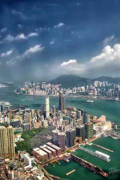Photograph - Hong Kong Vista by Endre Balogh