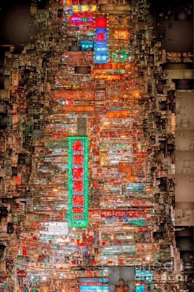 Digital Art - Hong Kong -yaumatei by Rafael Salazar