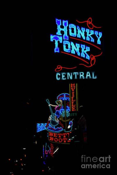 Honky Tonk Photograph - Honky Tonk Central by David Bearden