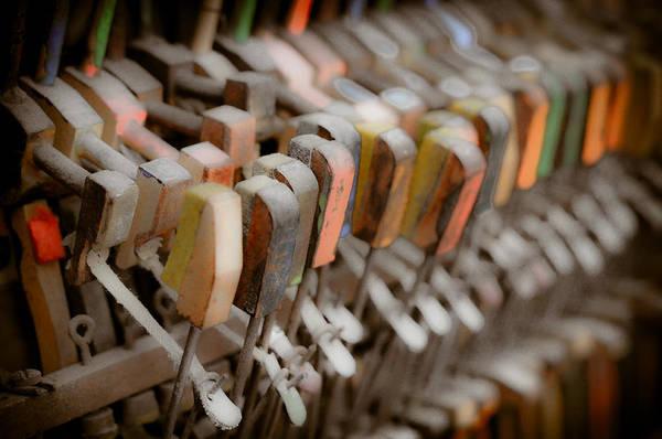 Honky Tonk Photograph - Honky Tonk Piano Keys by Keith Sanders