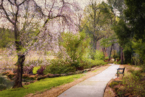 Honor Heights Park Photograph - Honor Heights Pathway by James Barber
