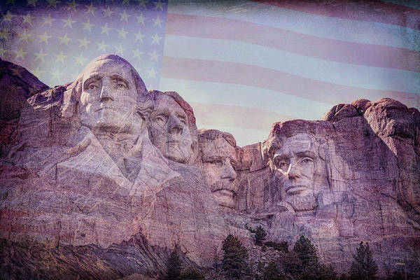 Wall Art - Photograph - Honored Leaders by John M Bailey