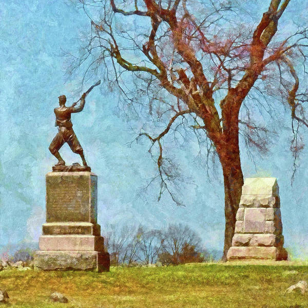 Digital Art - Honoring The American Heroes Of Gettysburg - 4 by Digital Photographic Arts