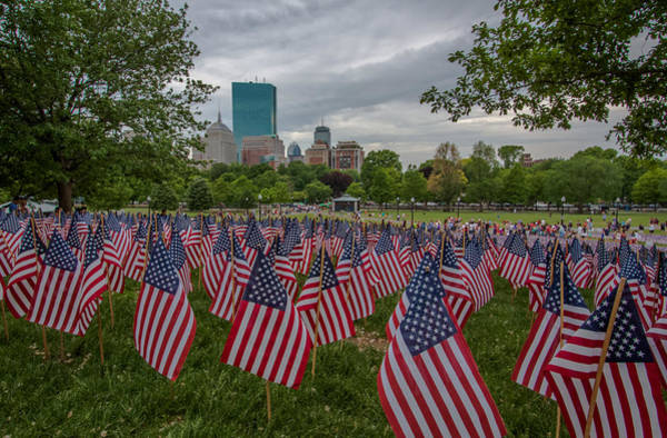 Photograph - Honoring The Fallen by Brian MacLean