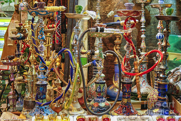 Wall Art - Photograph - Hookahs by Patricia Hofmeester