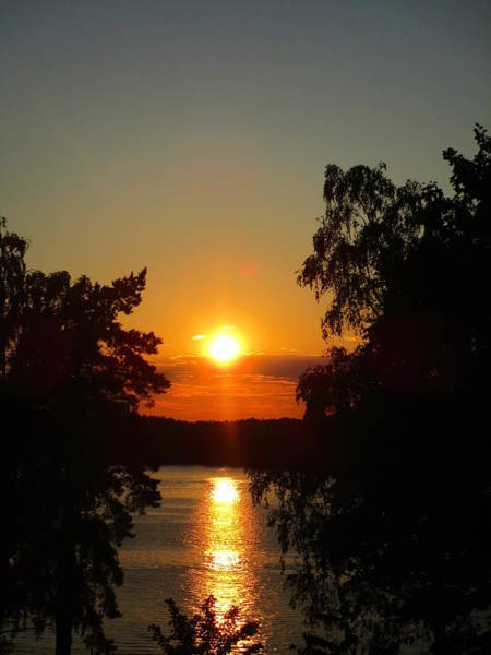 Photograph - Hooked On Sunsets by Rosita Larsson