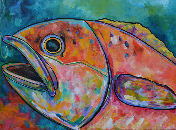 Painting - Hooked by Patti Schermerhorn