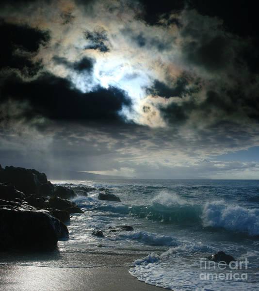Polynesian Photograph - Hookipa Waiola  O Ka Lewa I Luna Ua Paaia He Lani Maui Hawaii  by Sharon Mau