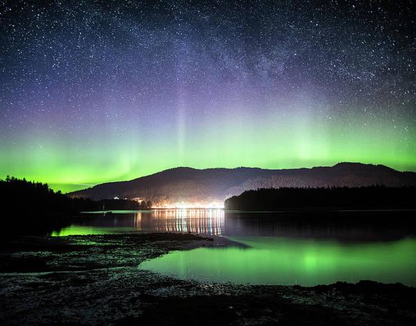 Photograph - Hoonah Aurora by Ian Johnson