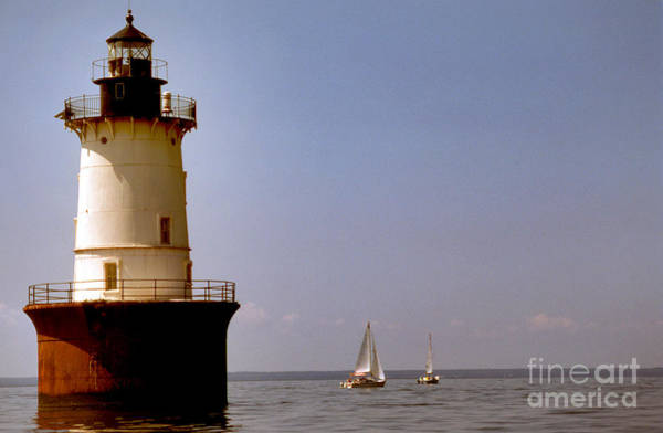 Wall Art - Photograph - Hooper Island Lighthouse Md by Skip Willits