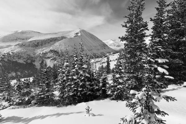 Photograph - Hoosier Pass Winter Landscape by Cascade Colors